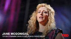 Jane McGonigal - Oyun Oynamak Daha İyi Bir Dünya Yaratabilir TED Konuşması