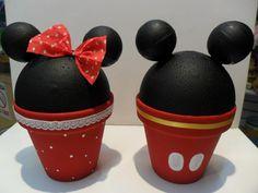 Decoración de Mickey y Minnie