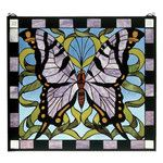 Features:  -Butterfly collection.  -Square.  -Theme: Animals, Floral.  Color: -Multi-colored.  Country of Manufacture: -United States.  Orientation: -Vertical.  Shape: -Square.  Theme: -Animals/Floral