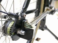 BFS2017: Brik Bikes' the chainless bicycles, no maintenance Dutch commuters - Bikerumor