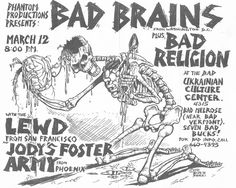 Bad Brains, Bad Religion, LEWD & Jody's Foster Army