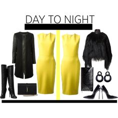 """Day to Night!! Polyvore contest."" by carterjennifer on Polyvore"
