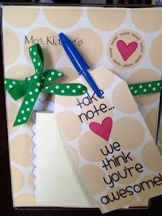 more easy and inexpensive teacher appreciation ideas