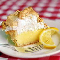 The Very Best Homemade Lemon Meringue Pie Recipe ~ Here's one for the Lemon Lovers. Made completely from Scratch, just like Grandma used to make. No Artificial Anything here! Reminds me of Sunday suppers while growing up.