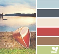 Lake color