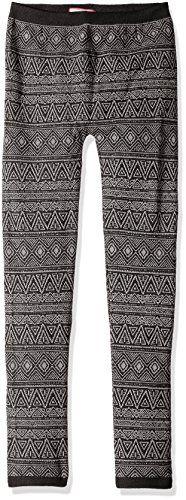 Dream Star Girls' Aztec Jacquard Fleece Lined Legging >>> For more information, visit