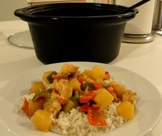 crock pot sweet and sour chicken