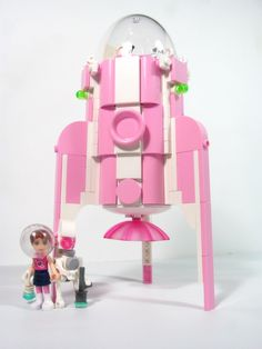 LEGO Friends Space Rocket #lego #legoset #legofriends #legospace #legorocket #rocket #space #friends