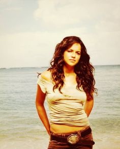 Michelle Rodriguez - this is totally representative of Adela's attitude