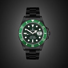 BLACK OUT Rolex Submariner Date LV by PROJECT X