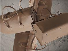 #MaisonCharoussas Dr WE Bag Natural Leather Vegetal Tanning Photo by Dimitri Smilenko