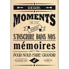 Certains moments ...