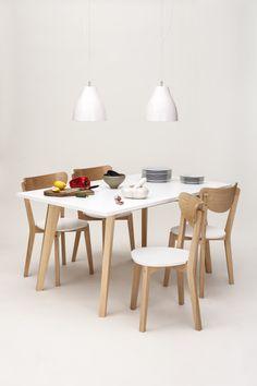 Juego de #comedor Stick (#mesa y 4 #sillas) con descuento y entrega inmediata. Stock: 1 juego. Mirá más productos en liquidación en http://www.unimate.com.ar/ofertas.php