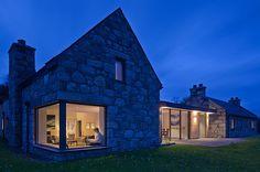 Derelict Stone Buildings Restored And Contemporized Into A Scottish Home | CONTEMPORIST