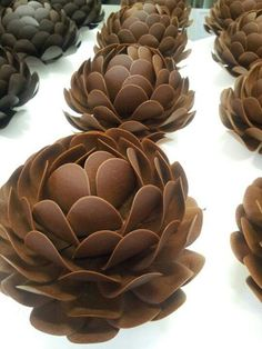 Chocolate flowers...