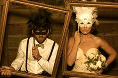 Masquerade Photos - Wedding Photobooth