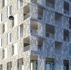 Bardage de façade en béton FIBRE C : 3D Rieder Smart Elements GmbH