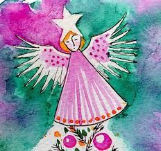 fairies at christmas in watercolour - Google Search