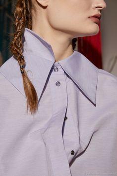 dbc5590c64a Блузки ручной работы. Заказать Рубашка с двойным воротником и объёмными  рукавами. Polina Benefit.