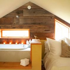 Whidbey Island barn conversion is a unique living space full of creativity and fun!