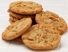 Easy Peanut Butter Cookies - only 3 ingredients.  Peanut Butter, Sugar & 1 egg.