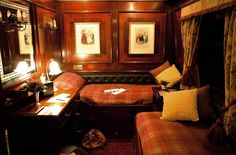 Well, certainly if they are these rails! The Royal Scotsman
