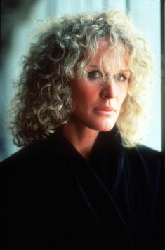 Glenn Close, Fatal Attraction (1987). Glenn has a very special kind of beauty that is very wrapped up in her charisma.