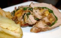 Bon Appetit's Proscuitto-Wrapped Pork Loin with Roasted Apples
