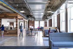 yelp's san francisco headquarters  |   commercial interior design {designed by studio o+a via ca home + design mag}