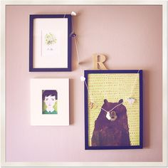 Wall display by renée anne // (on flickr)