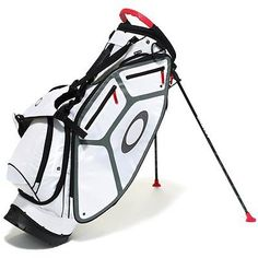 Golf Club Bags 30109: Oakley Fairway Golf White Stand Bag New -> BUY IT NOW ONLY: $159.99 on eBay!