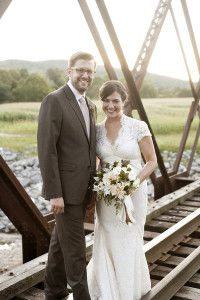 real vermont simple wedding