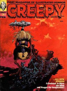 Cover for Creepy (Warren, 1964 series) #31 February 1970