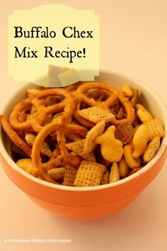 For the Dad's on Father's Day...Buffalo Chex Mix Recipe