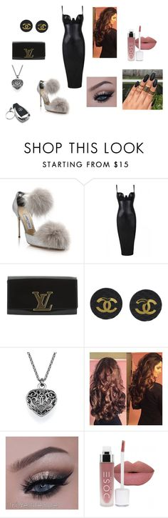 Untitled #197 by cams-me on Polyvore featuring Posh Girl, Jimmy Choo, Louis Vuitton, Chanel and Mercedes-Benz