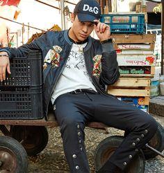 Austin Mahone for Dolce & Gabbana