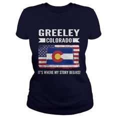 Centennial- Colorado T-shirt , limited edition custom product created by Landtees. Greeley Colorado, Longmont Colorado, Loveland Colorado, Denver Colorado, Grand Junction Colorado, Beautiful Places To Live, Custom Products, Custom Clothing