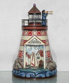 Lighthouse Figurine #zulily #zulilyfinds