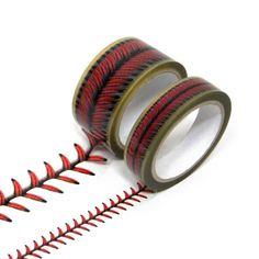 야구공 무늬 데코 테이프