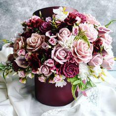 Love Rose Flower, Pretty Flowers, Flower Boxes, Planting Flowers, Flower Arrangements, Craft Projects, Floral Wreath, Bouquet, Soap