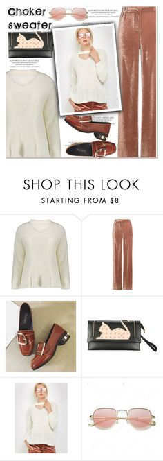 """""""Choker sweater"""" by paculi ❤ liked on Polyvore featuring Alberta Ferretti and StreetStyle"""