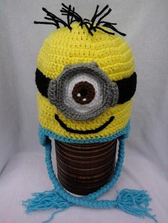 Minion crochet hats | Craftsy