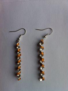 Boucles d'oreilles serpentin capsules Nespresso : Autres accessoires bijoux par jones-creation