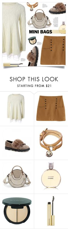 """""""So Cute: Mini Bags"""" by mahafromkailash ❤ liked on Polyvore featuring Avenue, Mulberry and Chanel"""