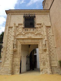 Puerta de Marchena del Alcázar de Sevilla