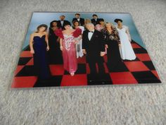 Dynasty season 6 cast photo (1986)