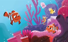 Nemo and friends by Joey Chou