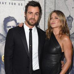 April 4: Justin Theroux and Jennifer Aniston played it cool at the Season 3 premiere of Justin's show <i>The Leftovers</i> at Avalon Hollywood in L.A.     Photo: Axelle/Bauer-Griffin/FilmMagic