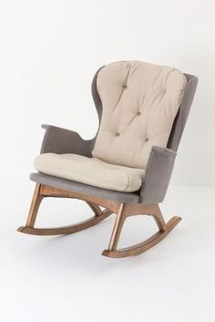 want this for knitting by the fire and rocking my babies!  Colorblock Finn Rocker