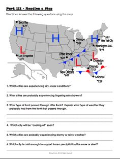 Barometric Pressure Weather Map.13 Best Weather And Maps Images Science Classroom Teaching